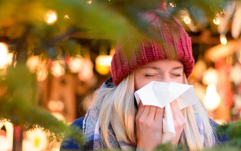 Raffreddore in inverno