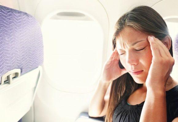 Evitare il mal di orecchie in aereo